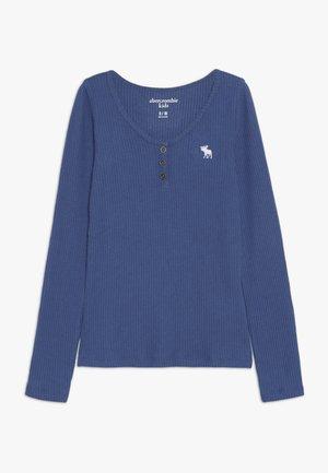COZY HENLEY - Top sdlouhým rukávem - blue