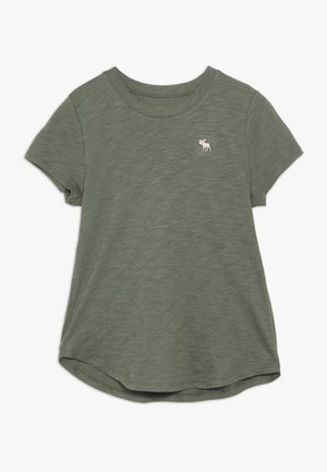 CORE CREW TEE - Print T-shirt - olive