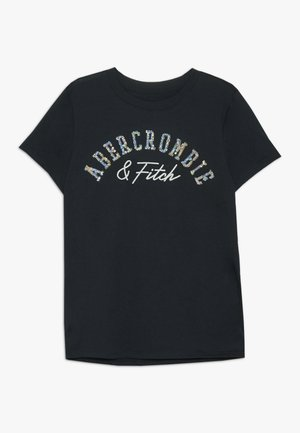 TECH CORE - T-shirt z nadrukiem - navy