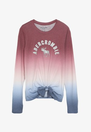 TECH CORE TIE FRONT  - Bluzka z długim rękawem - red/blue