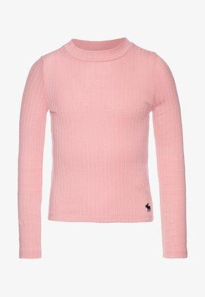 MOCK NECK - Camiseta de manga larga - blush