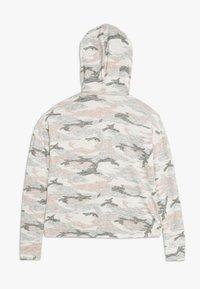 Abercrombie & Fitch - CUTE SPORTY HOOD  - Long sleeved top - light grey melange - 1