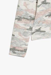 Abercrombie & Fitch - CUTE SPORTY HOOD  - Long sleeved top - light grey melange - 2