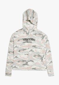 Abercrombie & Fitch - CUTE SPORTY HOOD  - Long sleeved top - light grey melange - 0