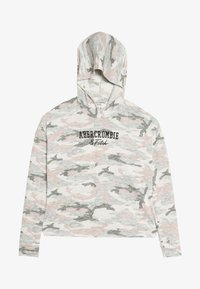 Abercrombie & Fitch - CUTE SPORTY HOOD  - Long sleeved top - light grey melange - 3