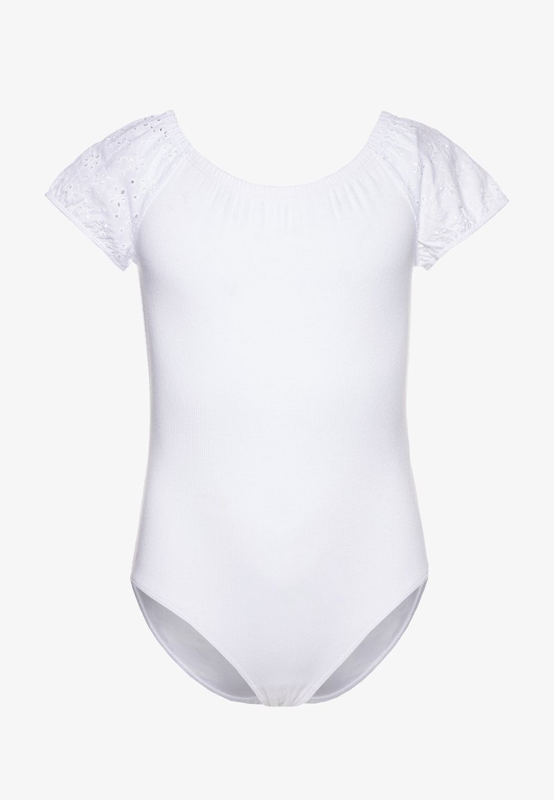 Abercrombie & Fitch - BODYSUIT - Print T-shirt - white