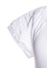 Abercrombie & Fitch - BODYSUIT - Print T-shirt - white - 2