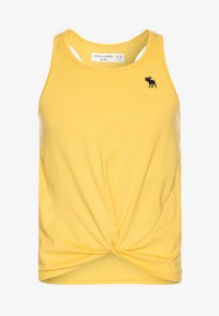 Abercrombie & Fitch - TWIST FRONT TANK - Top - mimosa - 0