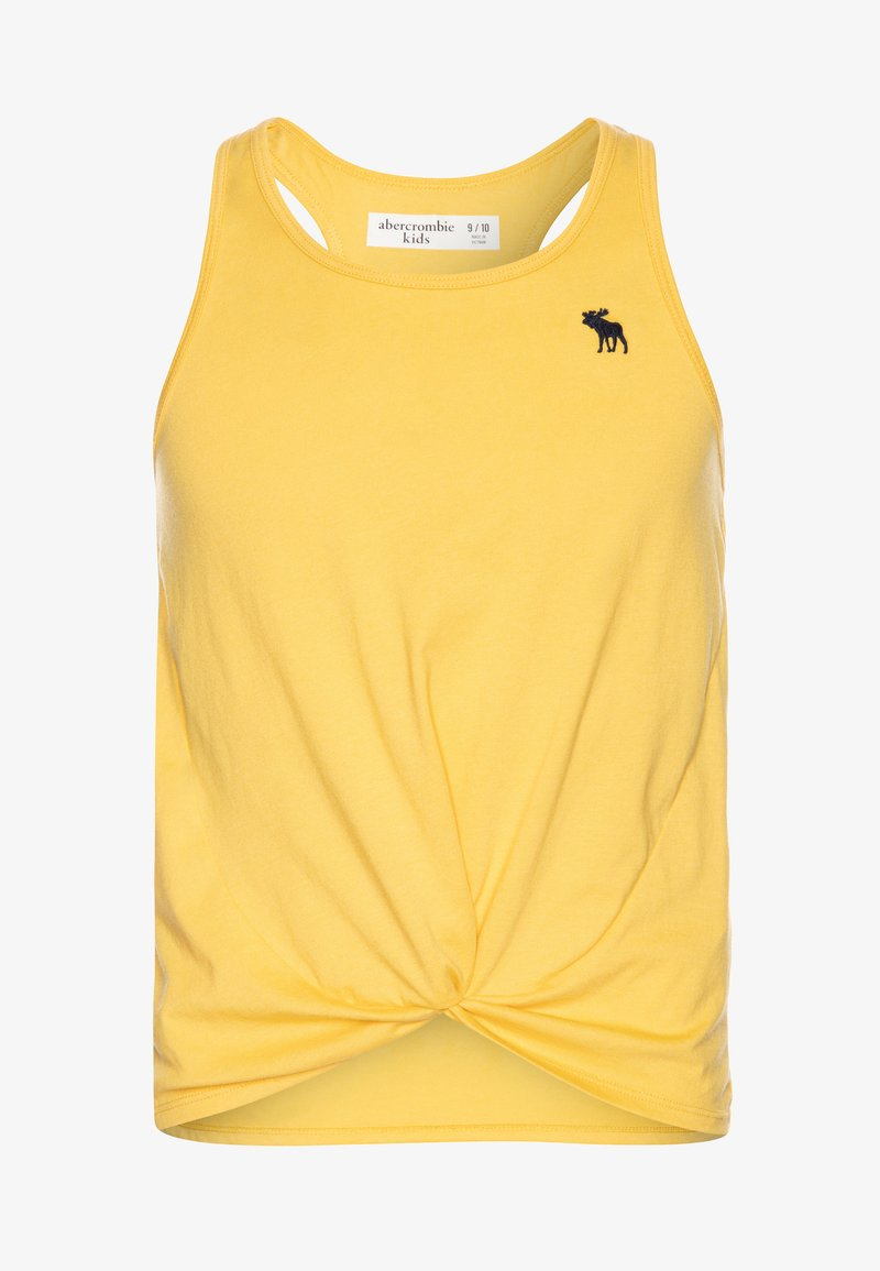 Abercrombie & Fitch - TWIST FRONT TANK - Top - mimosa