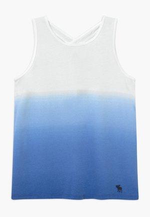 TANK DYE EFFECT - Top - blue