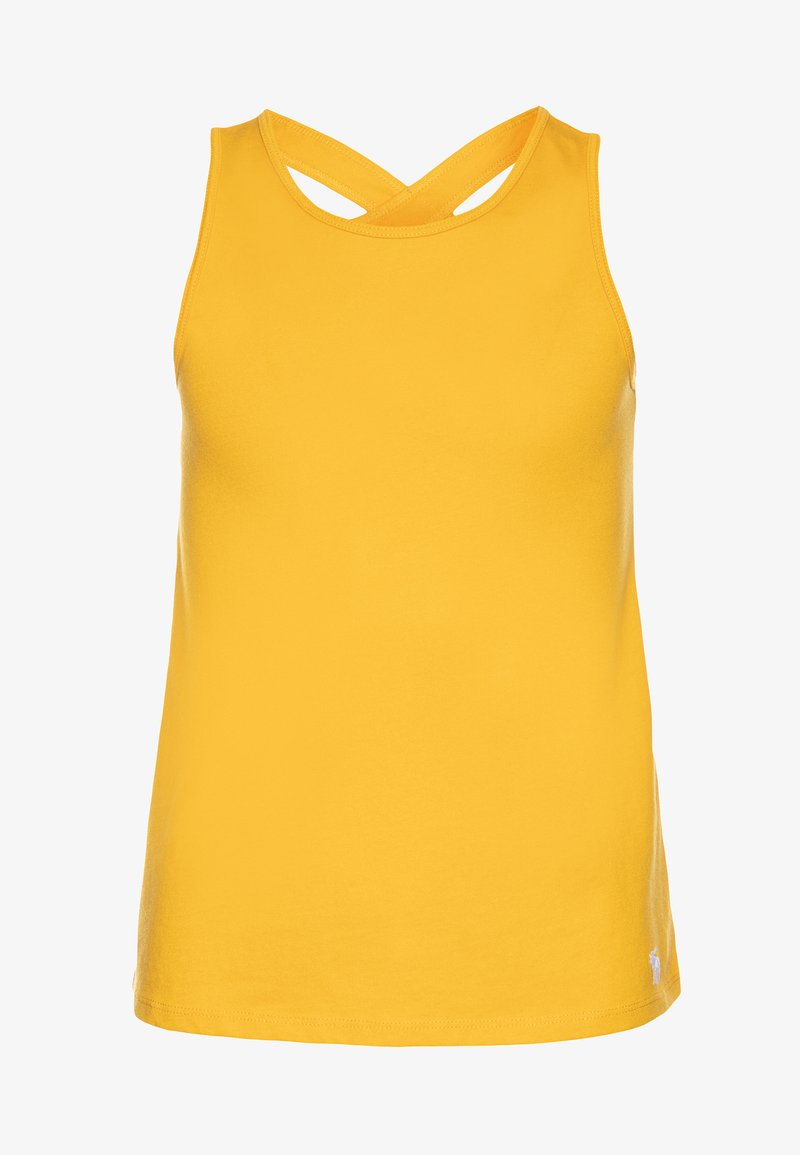 Abercrombie & Fitch - TANK  - Top - golden rod