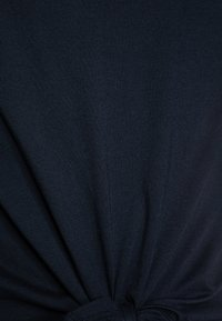 Abercrombie & Fitch - TIE FRONT  - Basic T-shirt - navy - 2