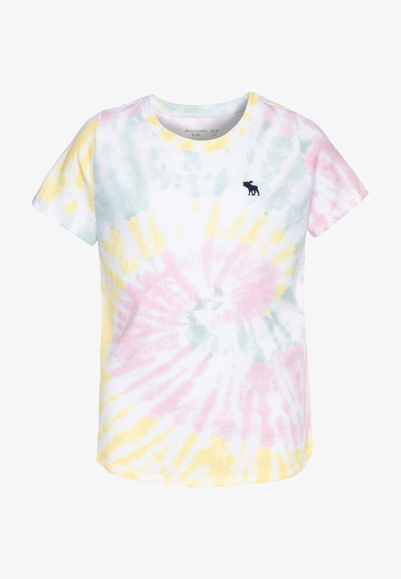 Abercrombie & Fitch - CURVE - Print T-shirt - multicolor