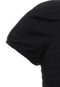 Abercrombie & Fitch - SMOCKED - T-shirt imprimé - black - 2