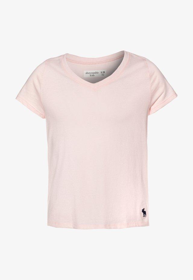 SLIM - T-shirts basic - blush
