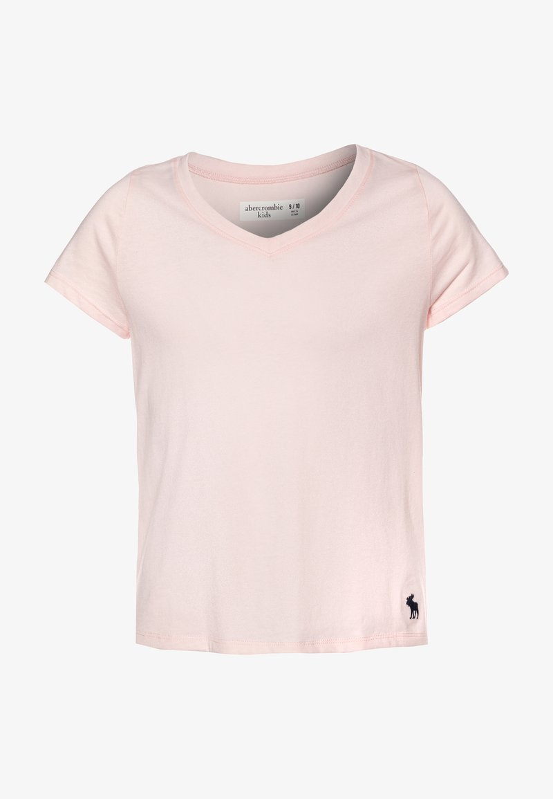 Abercrombie & Fitch - SLIM - T-shirt basique - blush