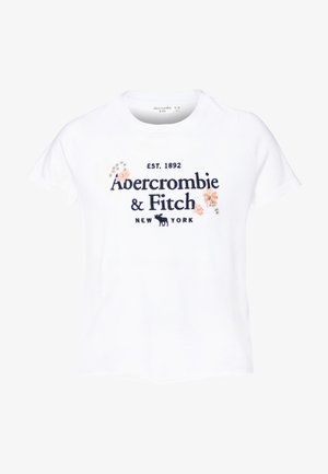 TECH CORE - T-shirt con stampa - white