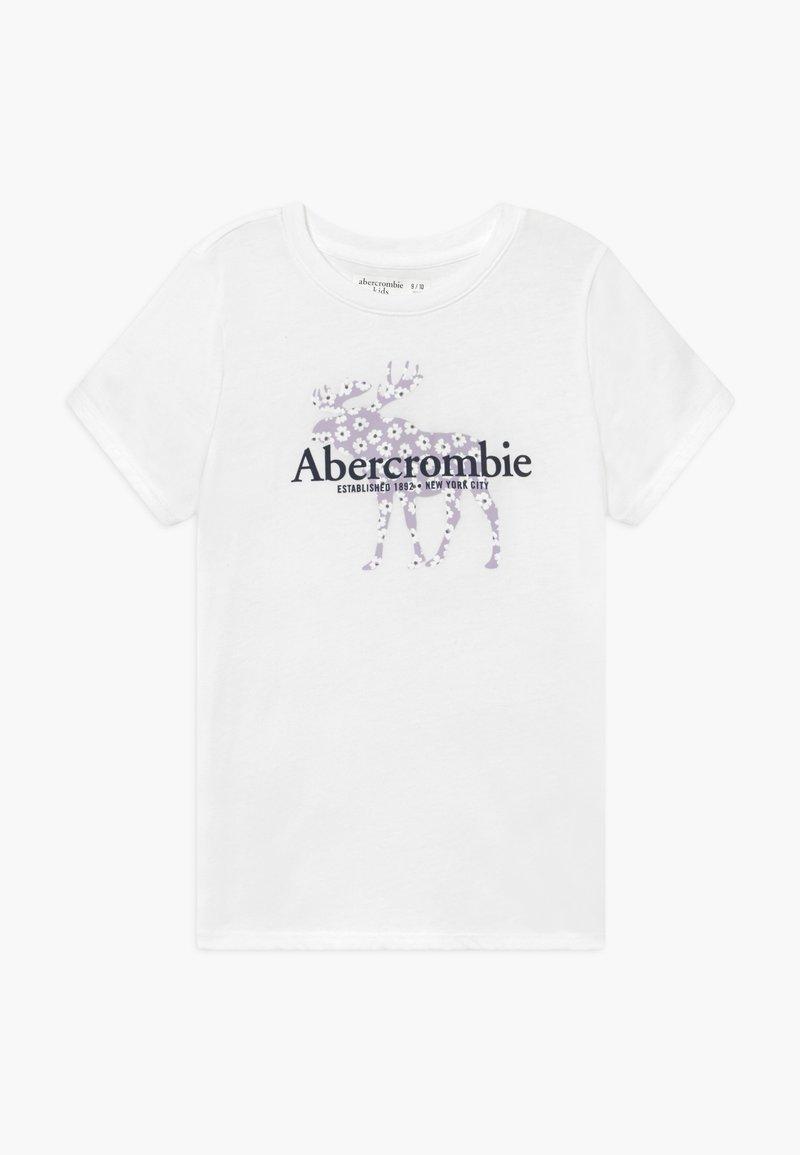 Abercrombie & Fitch - Triko spotiskem - white