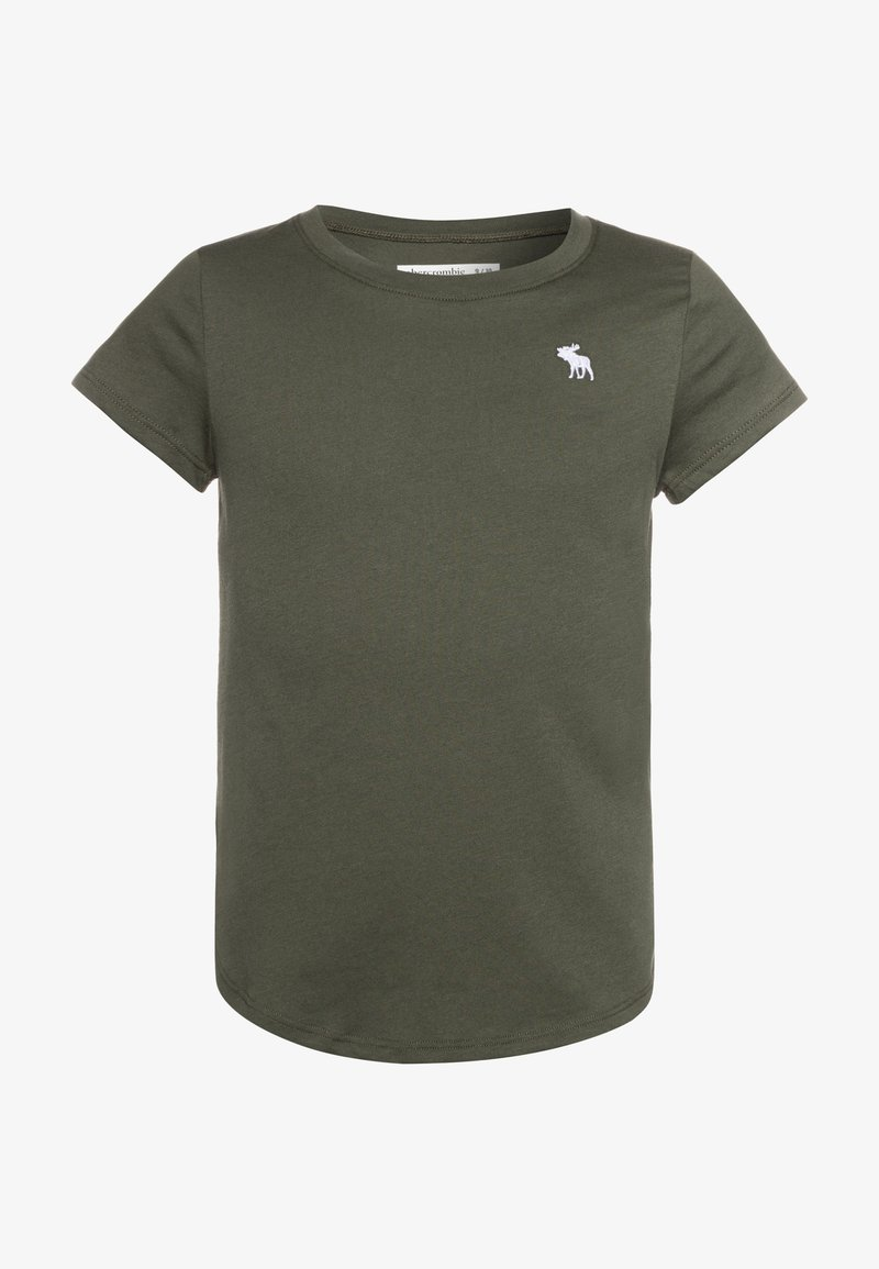 Abercrombie & Fitch - CORE CREW - Basic T-shirt - olive