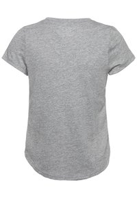 Abercrombie & Fitch - CORE CREW  - T-shirt basic - grey - 1