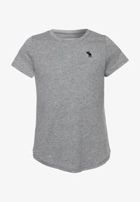 Abercrombie & Fitch - CORE CREW  - T-shirt basic - grey - 0