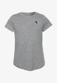 Abercrombie & Fitch - CORE CREW  - T-shirt basique - grey - 0