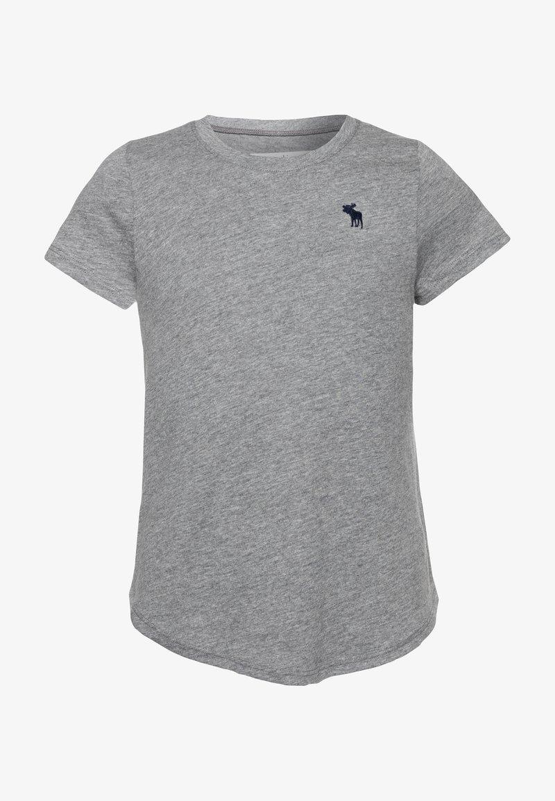 Abercrombie & Fitch - CORE CREW  - T-shirt basique - grey
