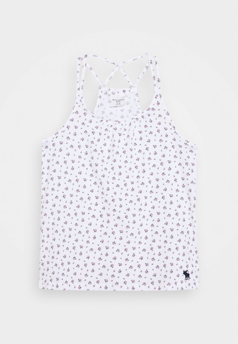 Abercrombie & Fitch - Top - white/pink