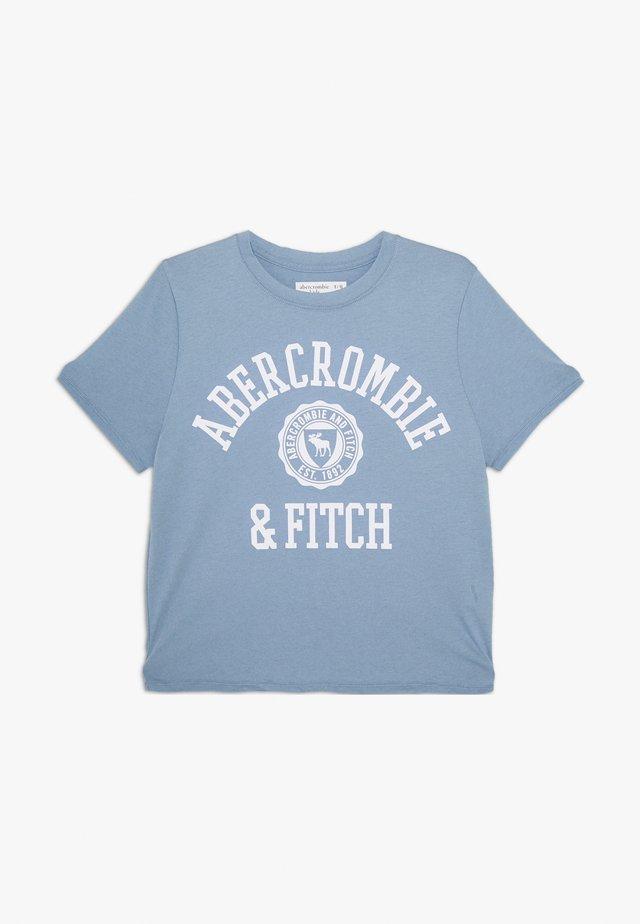 SCRUNCHIE TEE - Print T-shirt - white