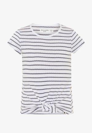 FASHION - Print T-shirt - white/black
