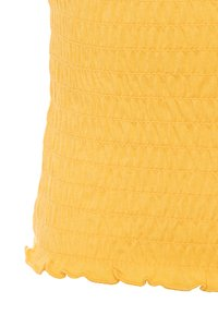 Abercrombie & Fitch - SMOCKED UPDATE - Basic T-shirt - yellow - 2