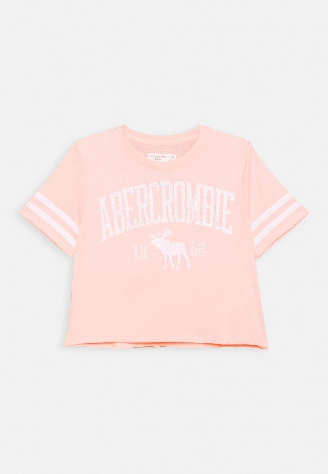 SHINE SPORTY TEE - Camiseta estampada - pink