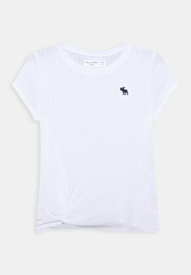 TWIST - Camiseta básica - white