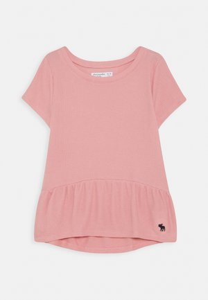 RUCHED TEE - Camiseta básica - blush
