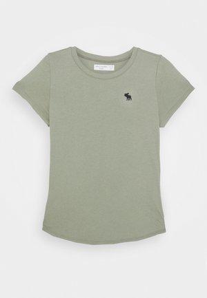 CURVE HEM SOLI - Camiseta básica - olive