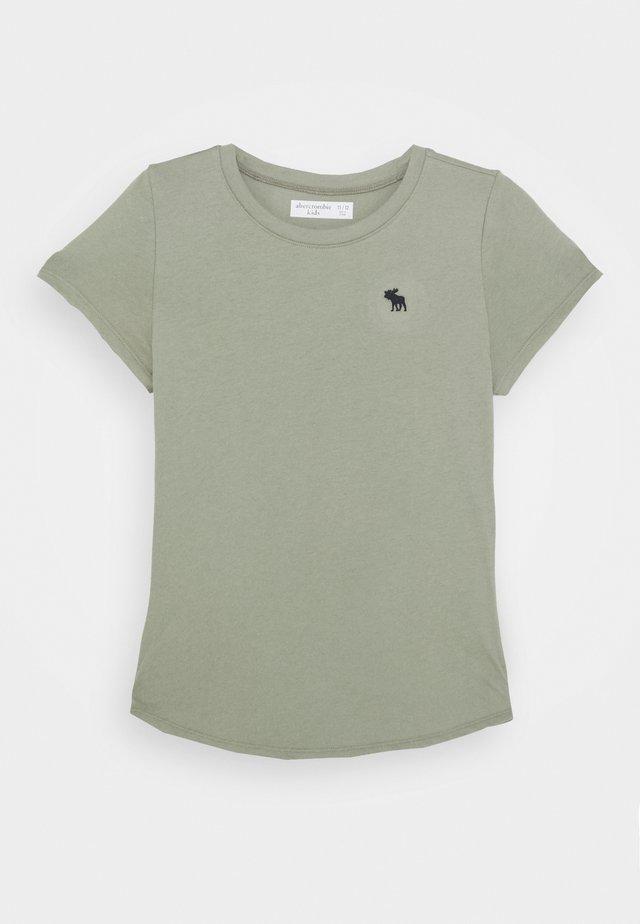 CURVE HEM SOLI - T-Shirt basic - olive