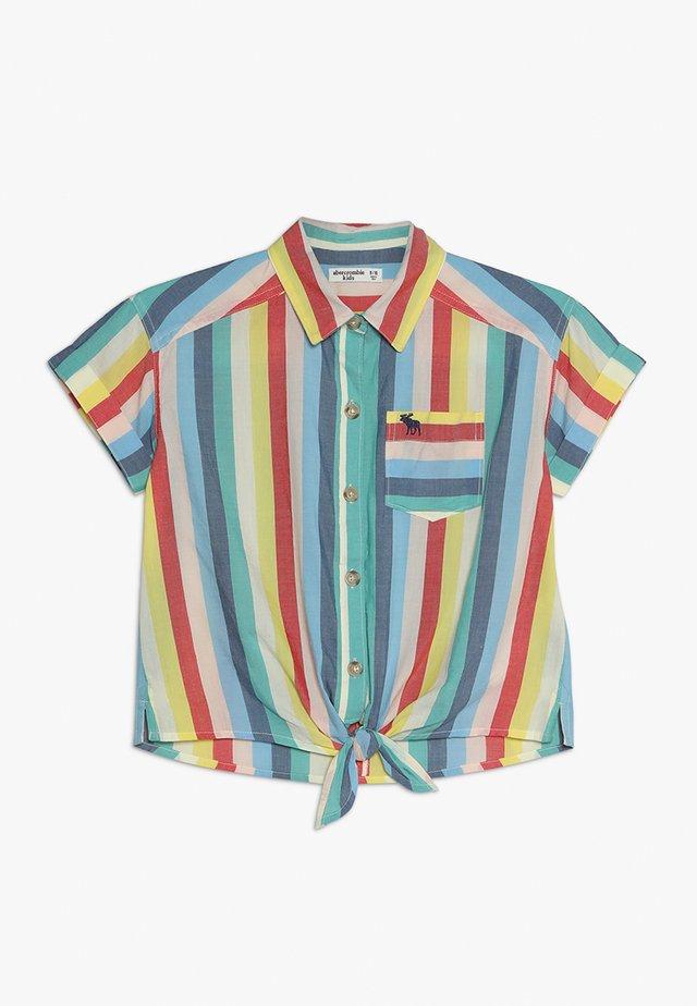 BUTTON FRONT - Hemdbluse - multicolor