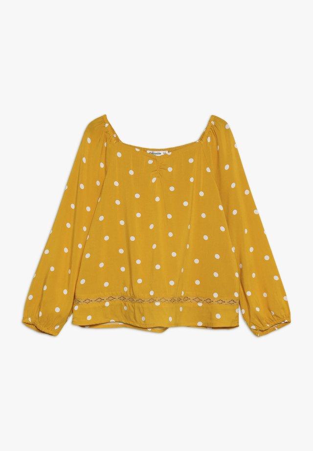 HEART NECK  - Blouse - yellow
