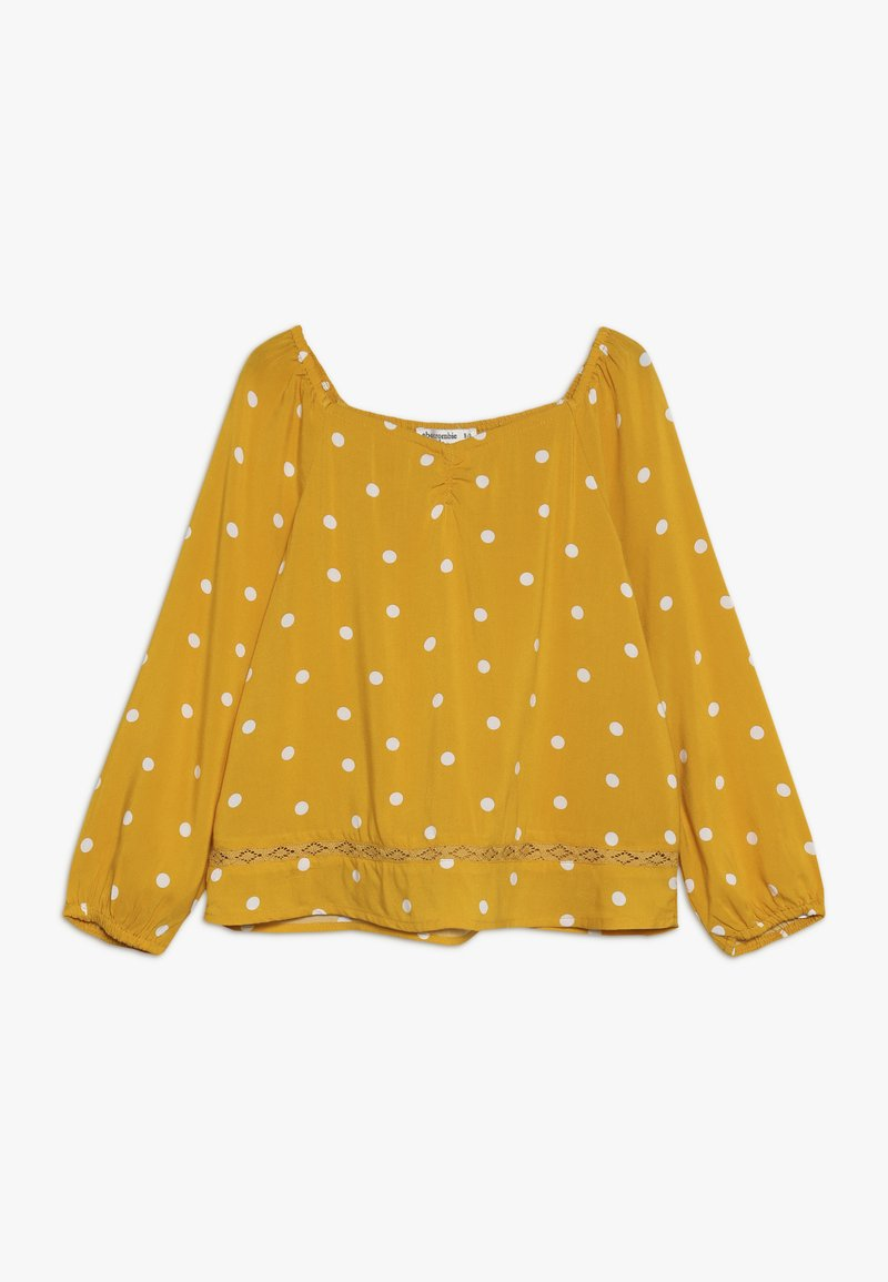 Abercrombie & Fitch - HEART NECK  - Bluser - yellow