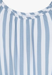 Abercrombie & Fitch - TIE FRONT BELL SLEEVE  - Blouse - blue/white - 4