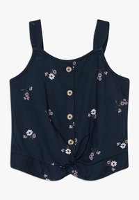 Abercrombie & Fitch - BEST IS BACK BARE TWIST - Top - navy - 0