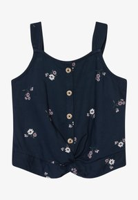 Abercrombie & Fitch - BEST IS BACK BARE TWIST - Top - navy - 2