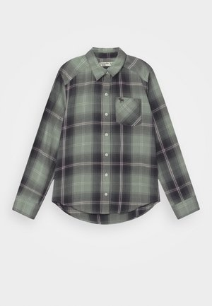 Button-down blouse - olive
