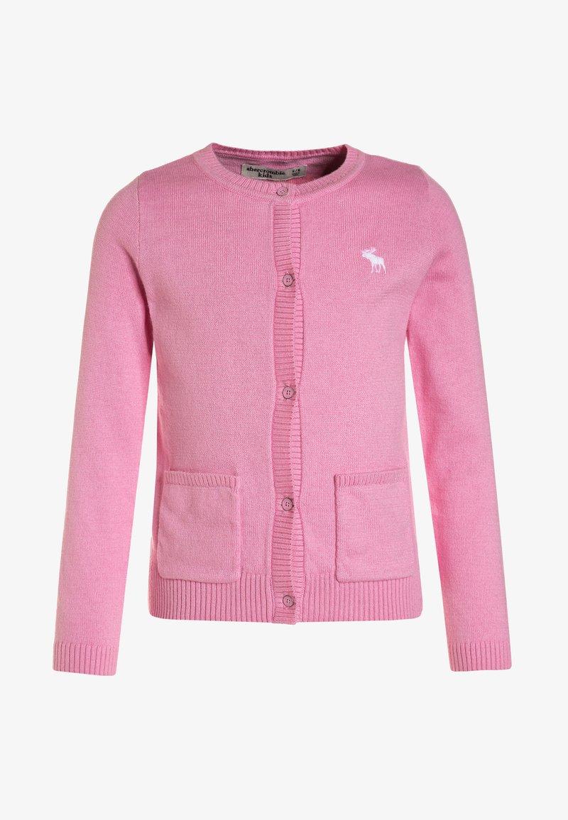 Abercrombie & Fitch - CREW CARDI - Cardigan - pink