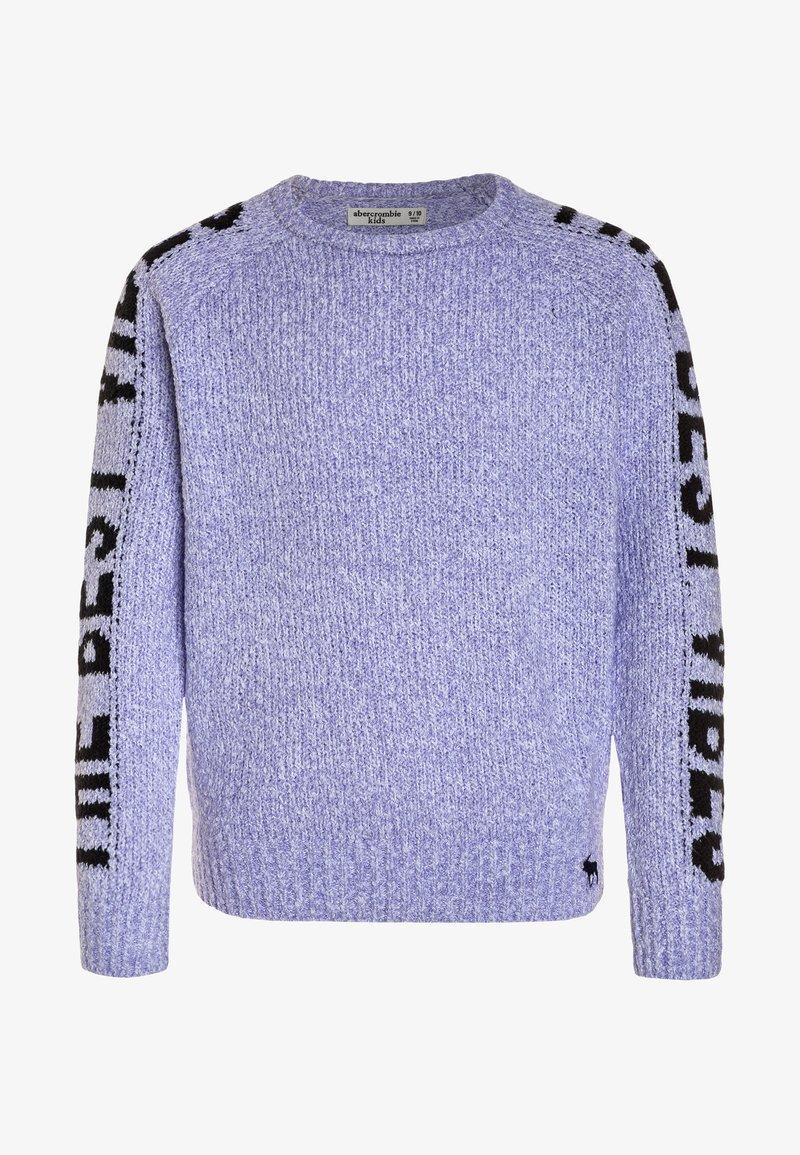 Abercrombie & Fitch - STRIPE PULLOVER - Svetr - purple
