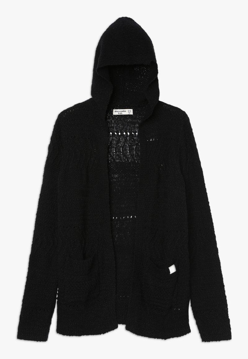 Abercrombie & Fitch - Cardigan - black