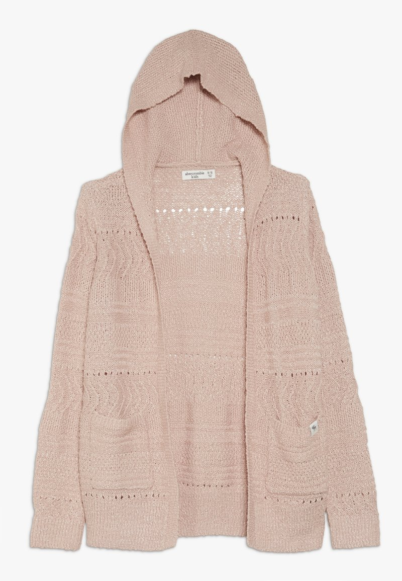 Abercrombie & Fitch - BLUSH CORE LAYER - Cardigan - blush