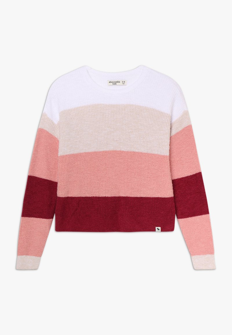 Abercrombie & Fitch - PLUSH CROPPED - Svetr - pink multi