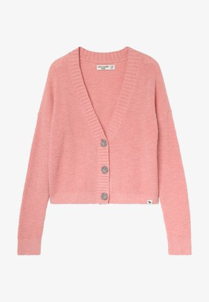 COZY CROPPED - Kardigan - pink