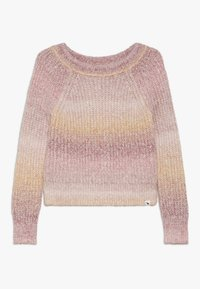 Abercrombie & Fitch - MARILYN NECKLINE - Maglione - pink space dye - 0